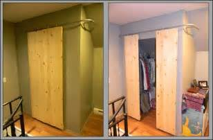 Sliding Closet Doors Diy Diy Tutorial Diy Room Crafts Diy Closets With Sliding Barn Style Doors Bead Cord