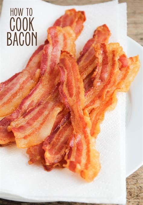 the best way to cook bacon perfect every time