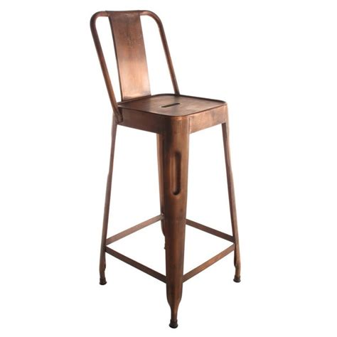 Copper Counter Stool by Copper Stool Barstools