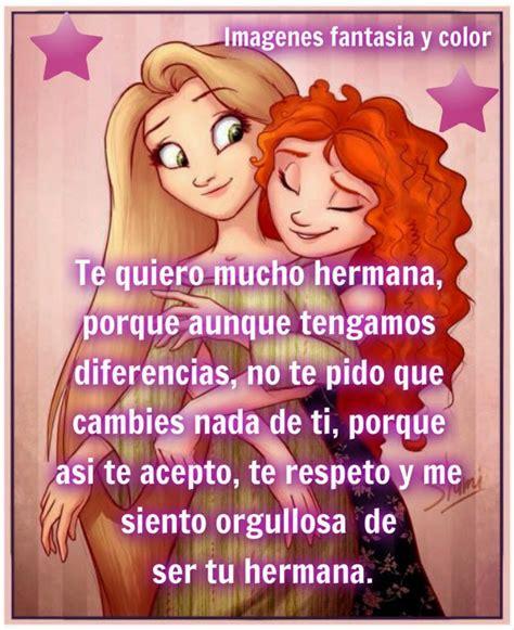 Imagenes Te Quiero Mucho Hermana | hermana te quiero imagui