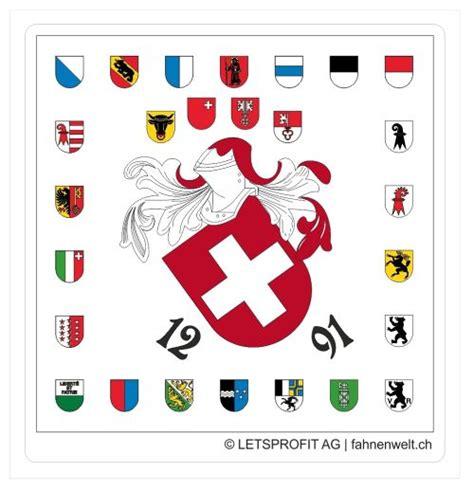 Sticker Bedrucken Schweiz by Schweiz Mit Allen Kantonen Ch Sticker