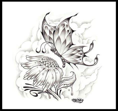 tattoo butterfly sketches butterfly tattoo by brown73 on deviantart