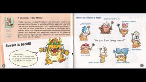 Manual De Super Mario Bros 3 Youtube