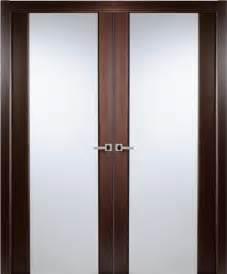 Wenge Kitchen Cabinets contemporary african wenge veneer interior double door