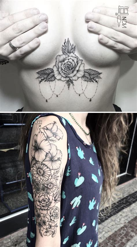 bored panda tattoo artist 10 floral tattoo artists who will make you want to get