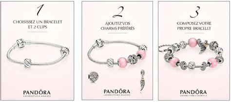exemple de bracelet pandora rose   Transfert Discount