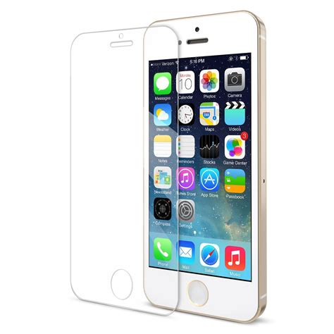 Tempered Glass Ip 5 Saapni Iphone Se 5 5s 5c Tempered Glass Screen Protector Spr08 Ip5