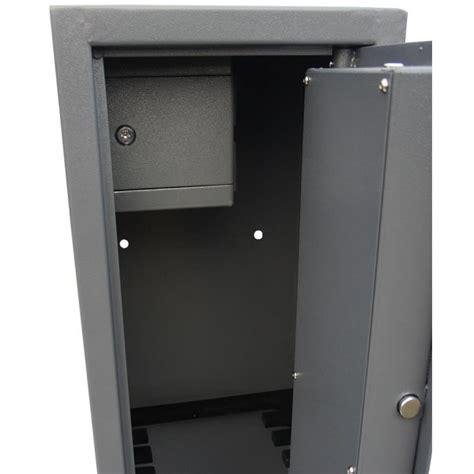lockable gun cabinet vault locking 6 gun cabinet with side ammo safe 3 x guns