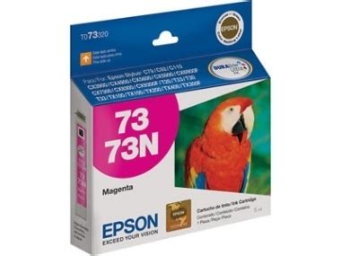 Tinta Epson Ink Cartridge 73n Colour Original cartucho de tinta 73n magenta elit s a mayorista de