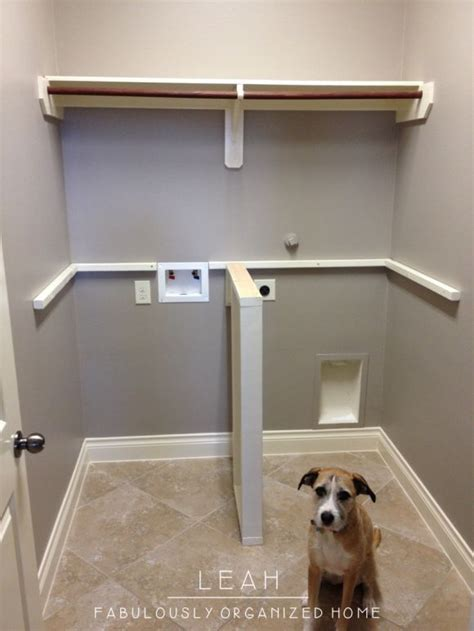 laundry countertop support no clothes hanger rod for us