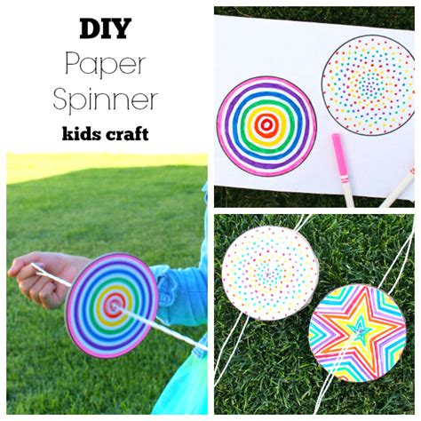 paper spinners template diy paper spinner for endless make and takes
