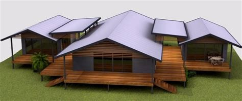 House Plans With Wow Factor 4 Bed House Plans Sloping House Designs For Acreage Blocks