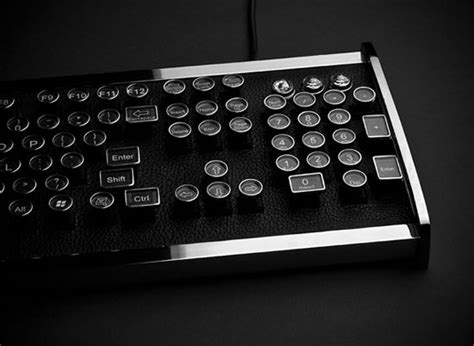 Cenios Gold Metallic M1550 Laptop by The Great Industrialist Chrome Keyboard Unveiled By
