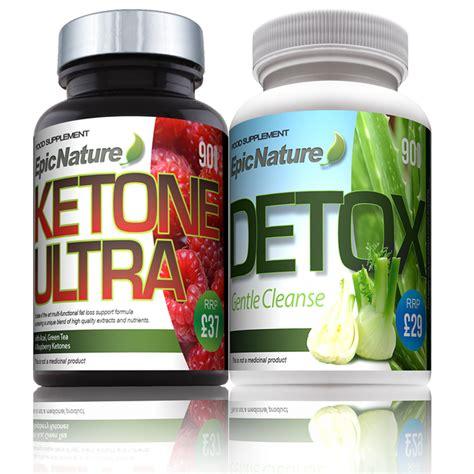 Ultra Cleanse Detox Pill by Epic Nature Detox Pack Raspberry Ketone Ultra Detox