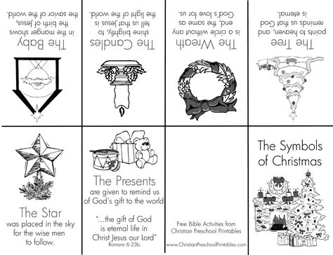 coloring pages of christmas symbols image gallery minibook