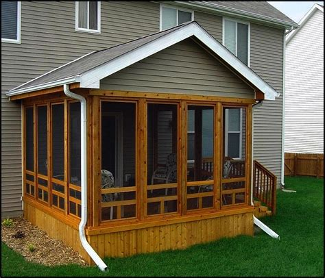 Screened In Deck Plans | screened in deck plans home design ideas