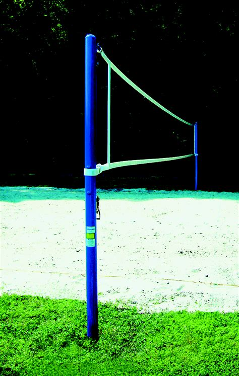 backyard volleyball net jaypro competition outdoor volleyball system 022755