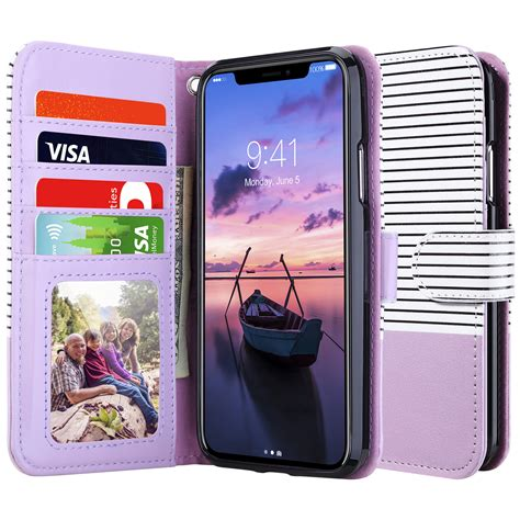 apple iphone xs max xr 8 7 6s plus magnetic shockproof flower wallet cover ebay