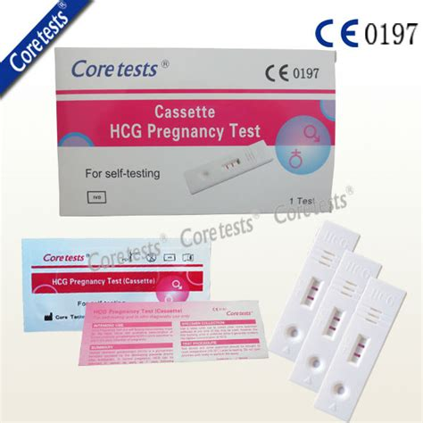 Oncoprobe Rapid Test Hcg 25 Box ce fda approved hcg pregnancy test rapid test kit early