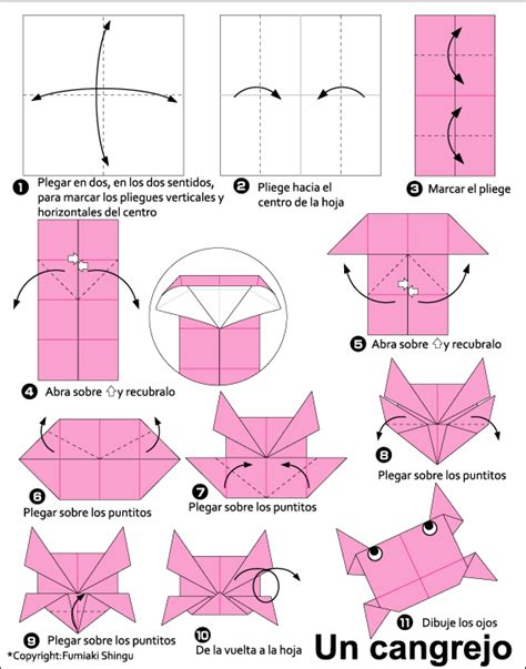 How To Make Origami Crab - origami crab