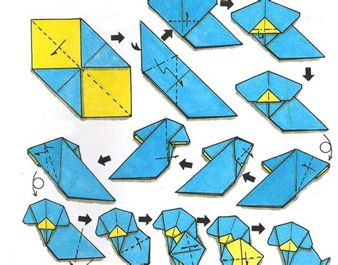 tutorial origami hewan wahyunal yuriswan tutorial origami binatang anjing