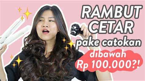 tutorial catok rambut tutorial catok rambut badai oday s hair tutorial youtube