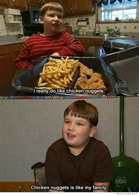 Chicken Nugget Meme - i really do like chicken nuggets weknowmemes