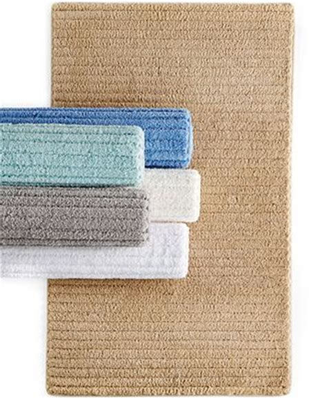 Macys Bath Rugs Closeout Martha Stewart Collection Cozy Textured Rugs Only At Macy S Bath Rugs Bath Mats