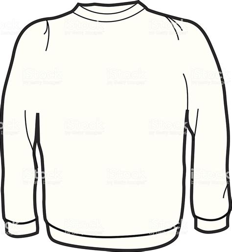 Adult Crew Neck Sweater Stock Vector Art More Images Of Adult 165027547 Istock Sweater Template