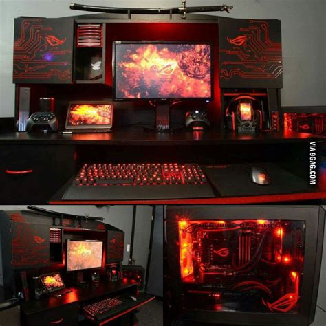 pc gaming setups 17 best images about epic pc gaming setups on pinterest