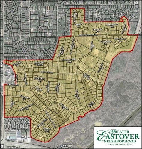 Hinds County Records Map Of Eastover