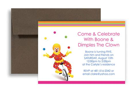 office birthday cards template carnival theme microsoft office templates