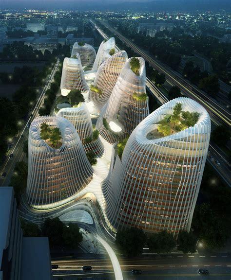 designboom china ma yansong mad architects shan shui city at designboom