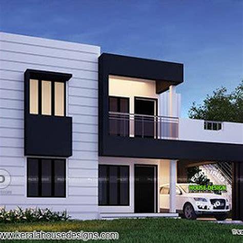 beautiful flat roof house design square feet kerala home beautiful flat roof kerala home design 1800 sq ft kerala