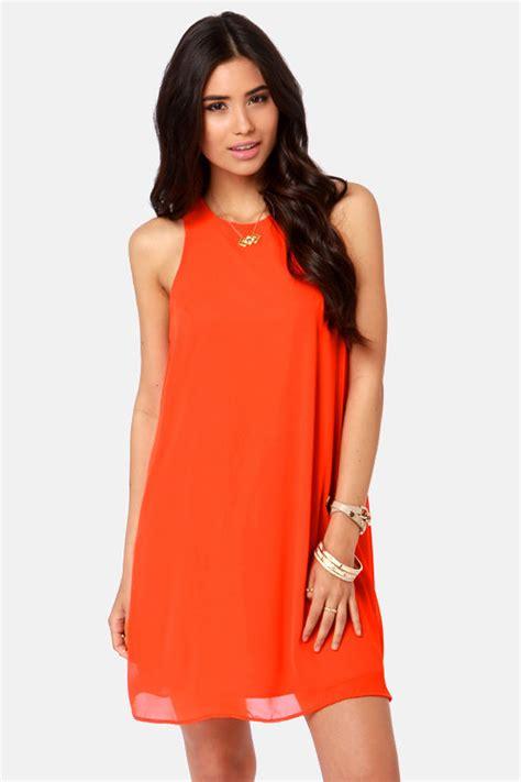 Dresss Orange by Orange Dress Chiffon Dress Shift Dress 37 00