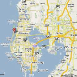 map of clearwater florida and surrounding areas charter boat two c s ii clearwater florida offshore
