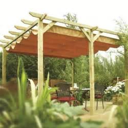 Pergola Canopy by Verona Wooden Pergola Garden Sun Canopy Gazebo Direct