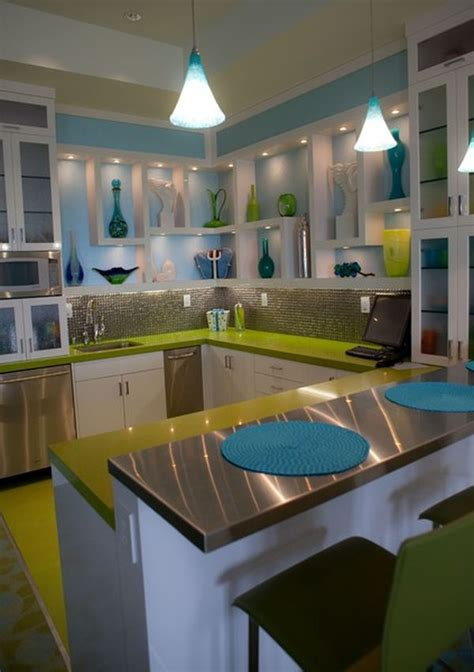 lime green kitchen design ideas green and blue colour combination