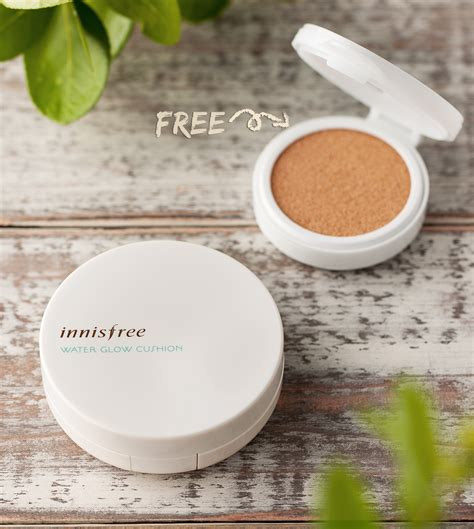 Innisfree Water Fit Cushion Refill 21 Beige make up water glow cushion refill set no 21