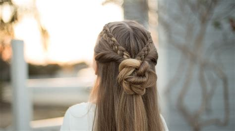 cute girl hairstyles braids youtube how to create a dutch lace braid combo long hairstyles