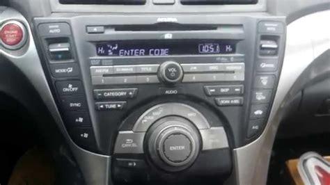 code for acura radio how to obtain your acura honda radio navigation serial