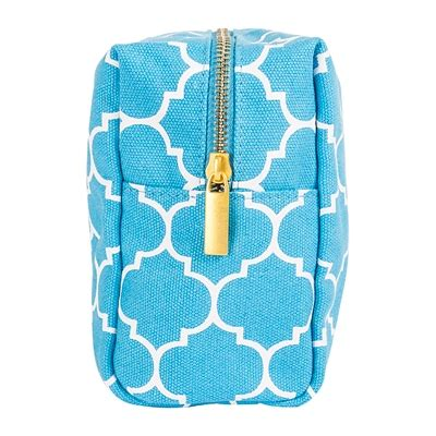 personalized moroccan lattice cosmetic bag on sale at the wedding shoppe canada