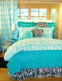 Cute Twin Comforter Sets Turquoise Zebra Bedding Interiordecorating