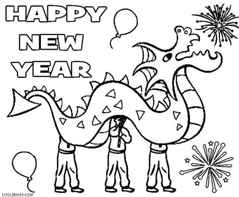 free coloring pages of chinese new year 2015
