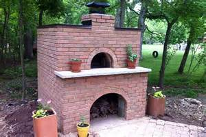 build a brick oven backyard henning house