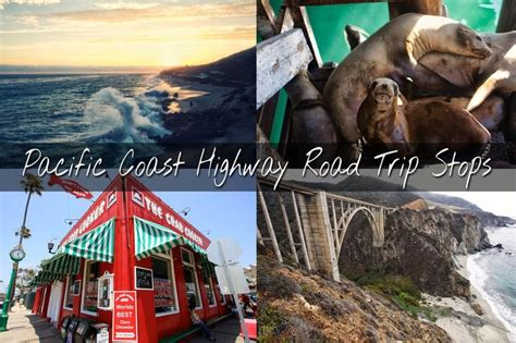 Pch Map Road Trip - pacific coast highway where to stop on your road trip interactive map posts and