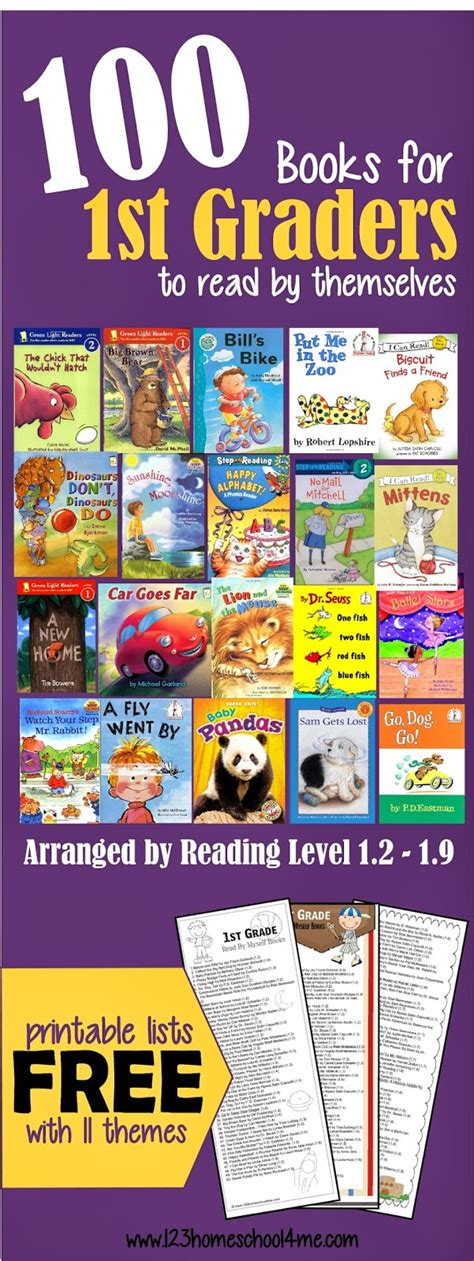 1st grade picture books 100 books for graders to read themselves by reading