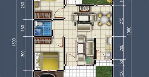 desain rumah sederhana minimalis denah rumah minimalis