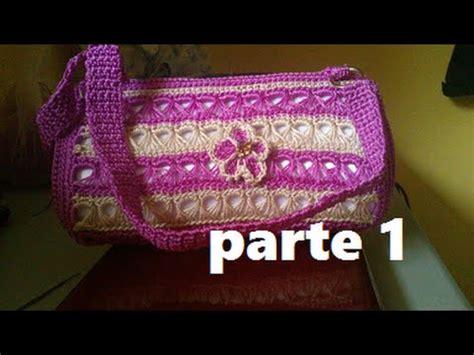 bolso para bebe tejida en crochet parte 1 de 3 bolsa tejida a crochet punto peruano youtube
