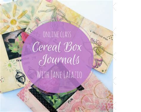design your own journal online online class create your own cereal box journal jane